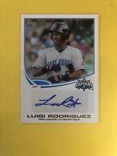 2013 Topps Pro Debut Auto Luigi Rodriguez Autograph RC Indians