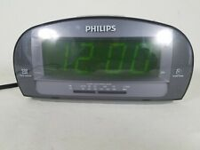 Philips Aj3540/37 Large Display Digital Am Fm Alarm Clock Radio