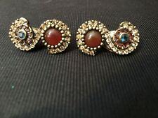 Heidi Daus Colorful & Beautiful Clip on Earrings