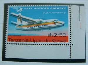 KUT 1967 Aviation Sg238 var, major colour shift variety mint MNH check scan.