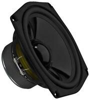 Monacor SPM-165 Hi-Fi-Tiefmitteltöner 8 Ω,Langzeitstabile Gummisicke