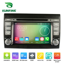 Android 6.0 Octa Core Car Stereo DVD GPS Navigation Player For Fiat Bravo 07-13