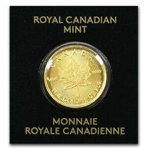 Lingot d'Or Pur 1g Canadien 24 Carats 2020