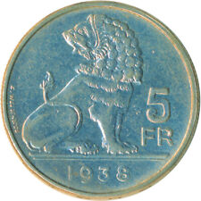 COIN / BELGIUM / 5 FRANC 1938       #WT6093