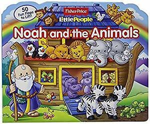 Fisher Price Little People Noah and the Animals Board Books Lori