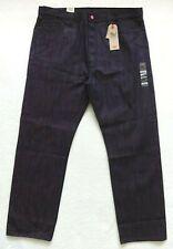 Levis 501 Shrink to Fit Jeans Mens Size 42x34 Purple Black Rigid Denim