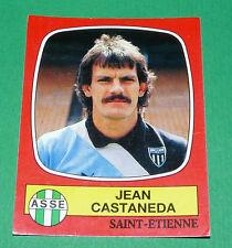 N°258 JEAN CASTANEDA AS SAINT-ETIENNE ASSE VERTS PANINI FOOTBALL 87 1986-1987