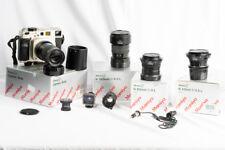 Mamiya 7 II Medium Format Champagne Film Camera +4 lenses-43,80,150 and 210mm
