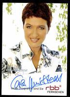 Carla Kniestedt RBB Autogrammkarte Original Signiert ## BC 52385