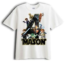 Lego Star Wars Personalized - Birthday T-Shirt Party Favor