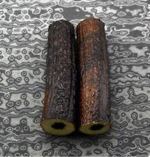 1pcs Hollow Knife Handle POM Resin Antler Horn Handle Sword Material DIY Part