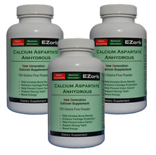 EZorb Calcium (3 Powder) Absorbs 92%, Bone Spurs Osteoporosis Arthritis Save 7%
