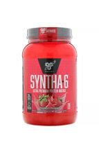 BSN Syntha-6 LeanMuscle Protein PowderDrink Mix Strawberry Milkshake2.91lbs 3/20