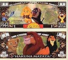 The Lion King - Disney Movie Million Dollar Novelty Money