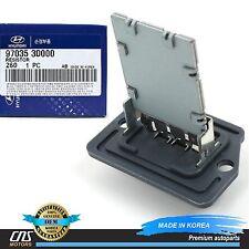 GENUINE Blower Motor Resistor Fits 01-13 Hyundai Kia OEM 97035-3D000 97128-2D000
