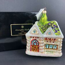 Christopher Radko Nibble Nibble Sunday Brunch Ornament 1997 Ltd. Ed. 2246/7500