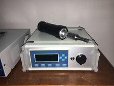 Handheld Plastic Spot Welder Digital Ultrasonic Generator for Hdpe Pp Pe Pc 110V