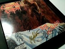 CANNIBAL CORPSE – Tomb Of The Mutilated – FULLY SIGNED by the ORIGINAL LINEUP!