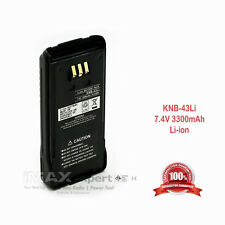 3300mAh KNB-33L KNB-43L Li-Ion Battery KENWOOD TK-2180 TK-3180 TK-5210 TK-5310