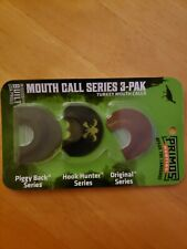 Primos Hunting Spring Mouth Call 3-Pak Turkey Mouth Calls Made in the Usa