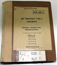 AP101B-2304-2, Jet Provost T4 General orders and modifications