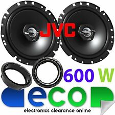 VW Golf MK4 1998-2004 JVC 17cm 6.5 Inch 600 Watts 2 Way Rear Door Car Speakers