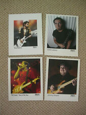 4 X PAUL REED SMITH PRS GUITARS PROMO PICS JOB LOT for STUDIO DISPLAY CUSTOM ART