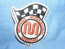 Vintage Old Sew On Patch Michigan International Speedway Advertising RARE