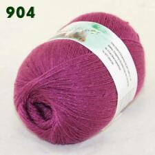 Sale 1ballx50g LACE Acrylic Wool Cashmere hand knitting shawl Yarn Bramble 904