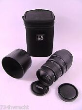 Sigma Lens 70-300mm F4-5.6 DL Macro for Minolta & bundled items Near Mint