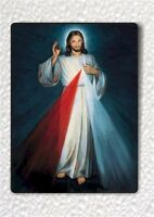DIVINE MERCY JESUS CHRIST SON OF GOD FRIDGE MAGNET -uhj8Z