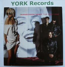 """TRANSVISION VAMP - The Only One - Excellent Condition 7"""" Single MCA TVV 7"""