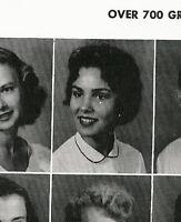 PAULA PRENTISS, TOMMY SANDS 1955 Lamar High School Yearbook