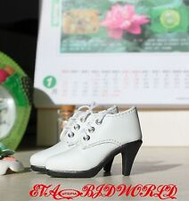 1/4 BJD MSD shoes Supper dollfie  New white  #78-3