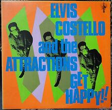 ELVIS COSTELLO Get Happy 1980 LP; Nick Lowe; Columbia – JC 36347, Matrix= 1A/1A