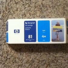 HP 81 (C4931A) Color/Cyan Ink Cartridge
