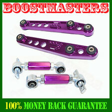 Honda Civic/CRX 88-91 Rear Lower Control Arm&Rear Camber Kit Purple