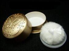 New Gold Pan-ge boa-puff & case Makeup/Baby Powder Case