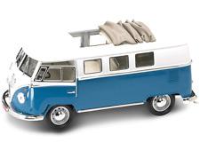 1:18 Yatming Yat Ming Road Signature Blue 1962 Volkswagen Microbus Item 92327