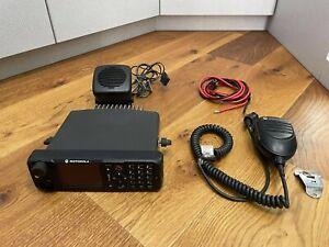 Motorola MTM800E UHF 380-430MHz TETRA radio
