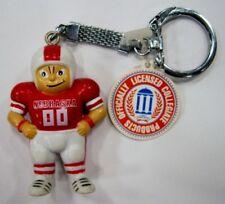 Nebraska university NCAA College Little Brat Key Ring by J.F. Sports