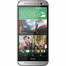 HTC One M8 32GB Unlocked GSM 4G LTE Quad-Core Android Phone - Silver
