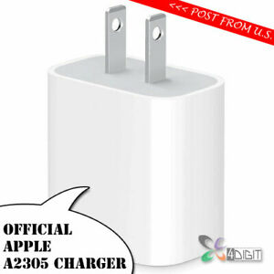 Original Genuine Apple A2305 20W Wall Charger for MagSafe wireless charger A2140