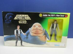 POTF star wars JABBA THE HUTT POWER OF THE FORCE han solo action figure set 1997