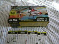Blade MSR X RTF Flybarless Helicopter  with spares