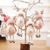 Merry Christmas Angel Doll Ornament Xmas Tree Hanging Pendant Party Decor-