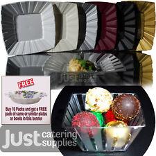 Jetables Heavy Duty Square Plaques De Plastique-ACHETER 10 boîtes Get Free papie...