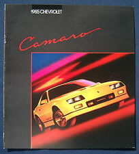 Prospekt brochure 1985 Chevrolet Chevy Camaro  (USA)