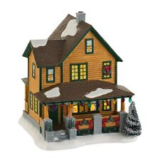 Department 56 a Christmas Story Village Ralphies House, Lit House, 7.24-Inch