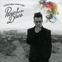 PANIC! AT THE DISCO - TOO WEIRD TO LIVE, TOO RARE TO NEW VINYL RECORD